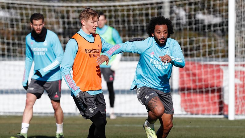 Odegaard left out for Real Madrid, Varane and Modric rested