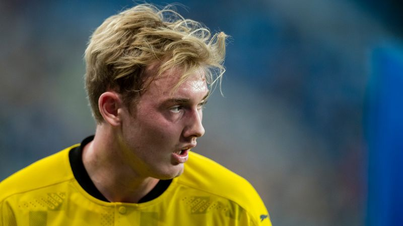 No Brandt contact between Arsenal and Dortmund