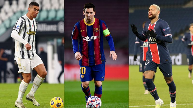 Messi, Ronaldo, Neymar all in UEFA TOTY as Van Dijk is also included