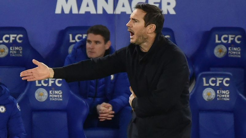 Lampard insists he can handle pressure after lacklustre Chelsea display