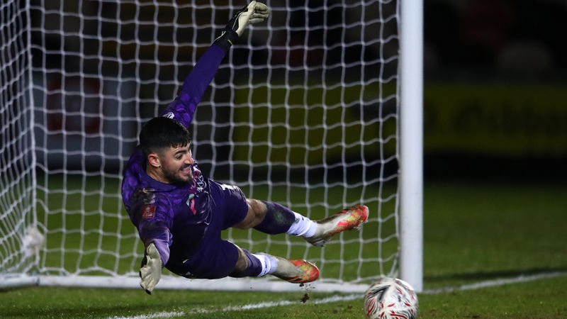 King is crowned! Newport County goalkeeper breaks world record for longest goal