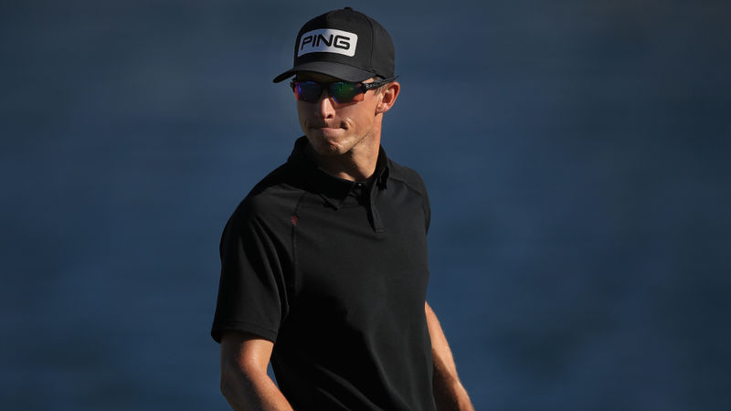 Hagy grabs lead at The American Express