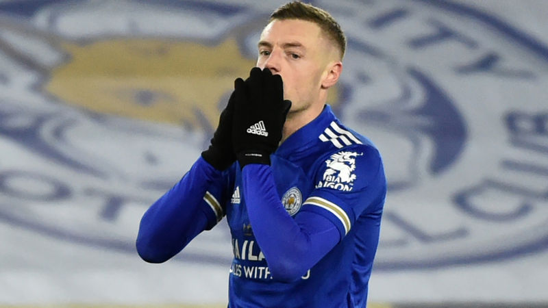 Leicester City to lose Vardy for 'a few weeks' due to hernia operation