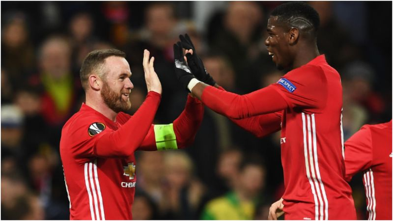 Pogba can play a massive part in helping Man Utd win title, says Rooney
