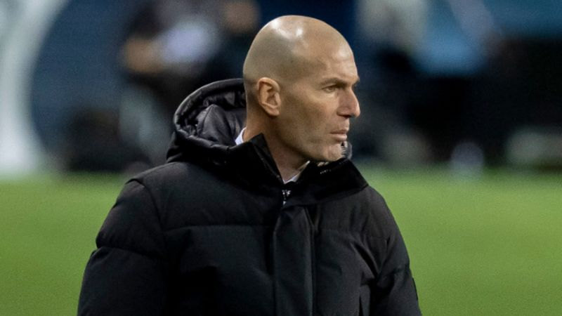 Real Madrid boss Zidane tests positive for COVID-19