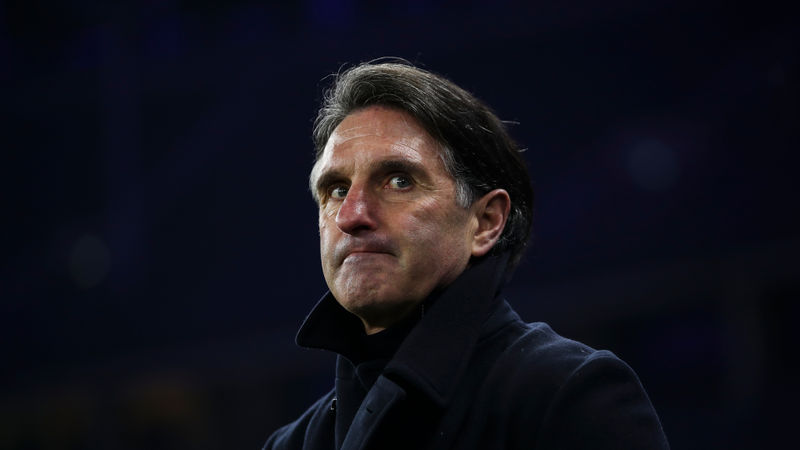 Bundesliga strugglers Hertha Berlin sack head coach Labbadia