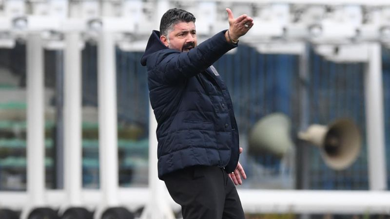 Gattuso frustrated as Napoli stumble: Can't go to supermarket and ask for €10 of determination