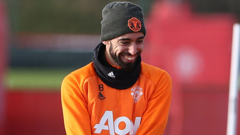 Man Utd star Bruno Fernandes laughs off tiredness claims