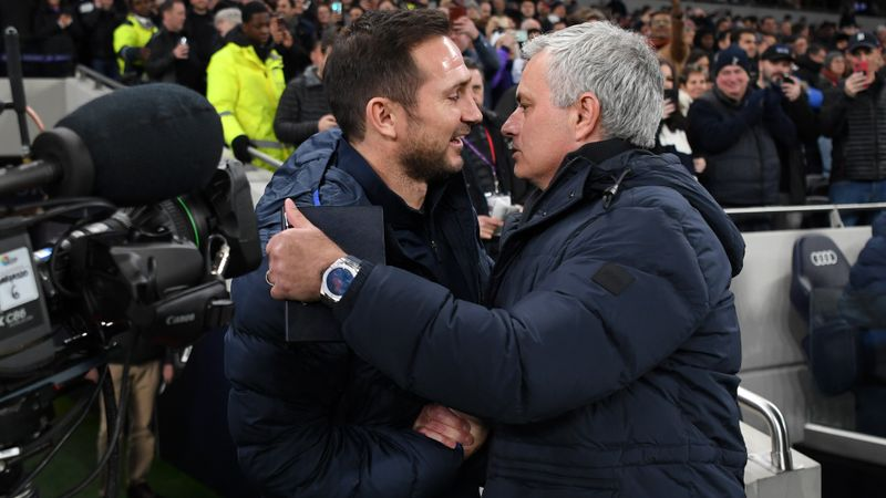 Lampard sacking shows 'brutality' of football, says Mourinho