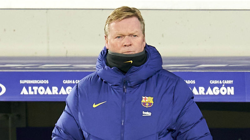 Koeman insists Barcelona players not worried by fears of spiralling club debts