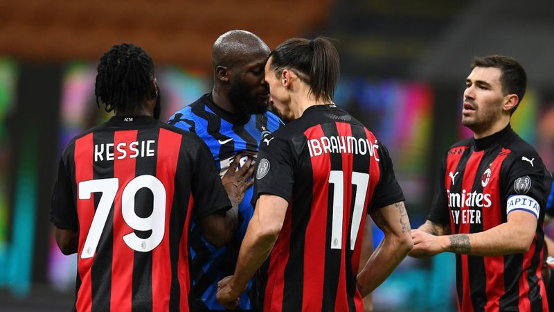 Inter 2-1 Milan: Lukaku has last laugh as Eriksen seals win after Ibrahimovic red