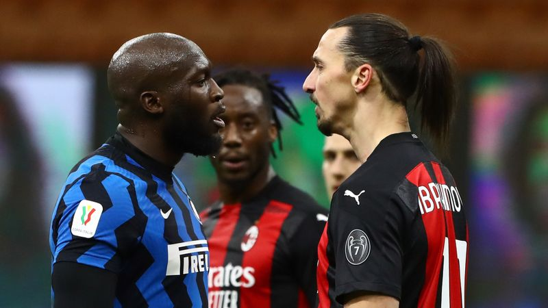 Ibrahimovic denies using racist insults in heated Lukaku clash