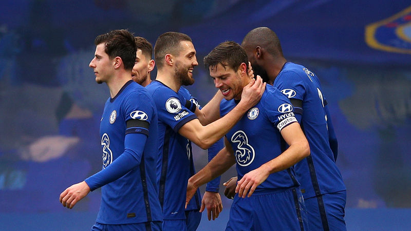 Chelsea 2-0 Burnley: Azpilicueta and Alonso earn Tuchel first win