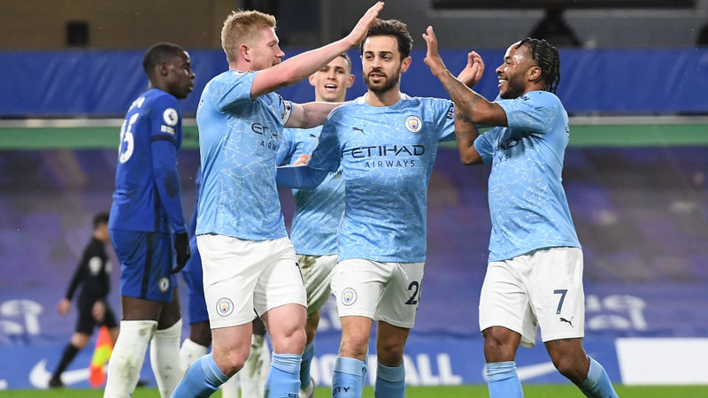 Man City slap down Chelsea to show true grit of Premier League title contenders