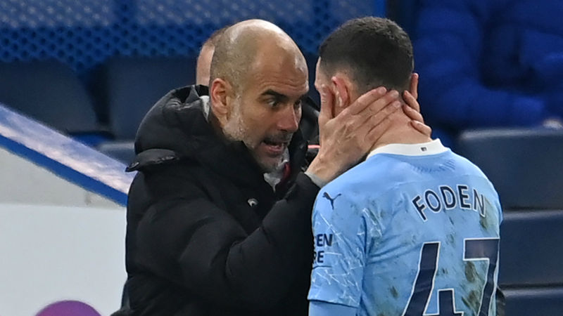 Foden learning from 'genius' Man City boss Guardiola as Scholes comparisons grow
