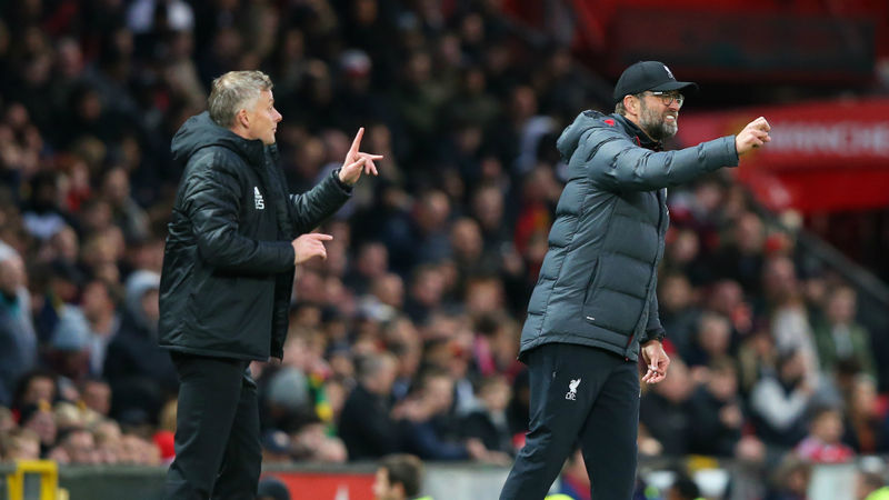 Solskjaer suggests Klopp trying to influence referees with penalty talk