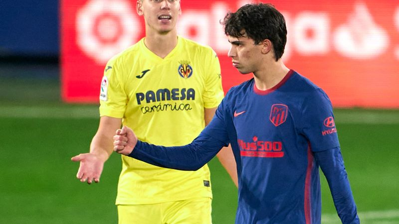 I love rebellious players – Atletico boss Simeone responds to Joao Felix's angry goal celebration