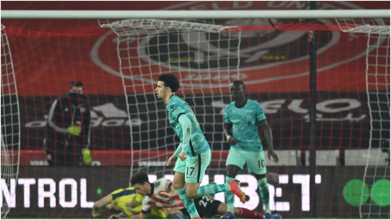 Sheffield United 0-2 Liverpool: Reigning champions end losing streak
