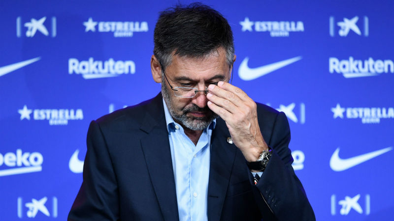 Bartomeu arrest reports after Barcelona office raid