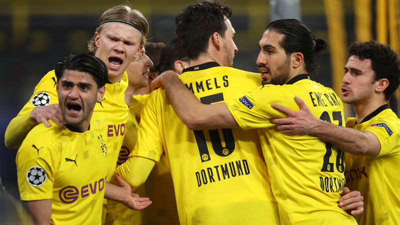 Borussia Dortmund 2-2 Sevilla: Haaland brace sends hosts through to quarter-finals