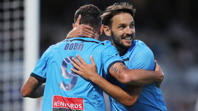 Sydney FC 2-0 Western United: Defending champions end winless run