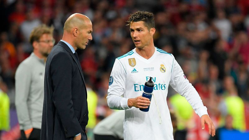 Ronaldo speculation grows as Madrid boss Zidane quizzed on Juve star's possible return