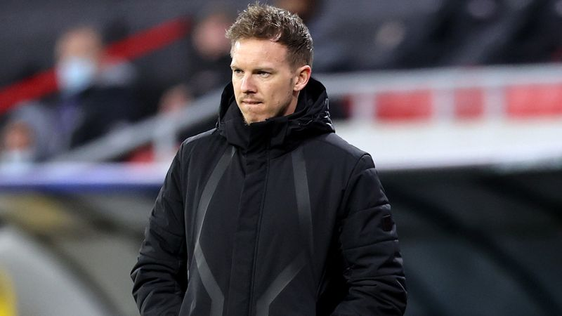 Nagelsmann on links to Barcelona and Bayern: It doesn't have any relevance for me