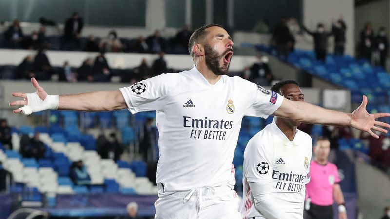 Real Madrid 3-1 Atalanta (4-1 agg): Benzema, Ramos and Asensio on target as Zidane's men progress