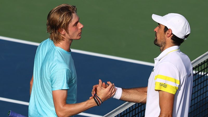 Shapovalov serves up a treat in Dubai