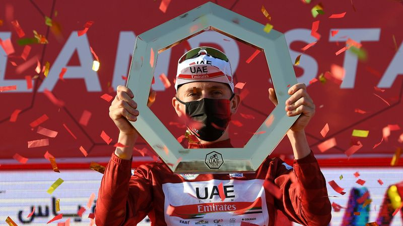 Tour de France champion Pogacar commits to UAE Team Emirates until 2026