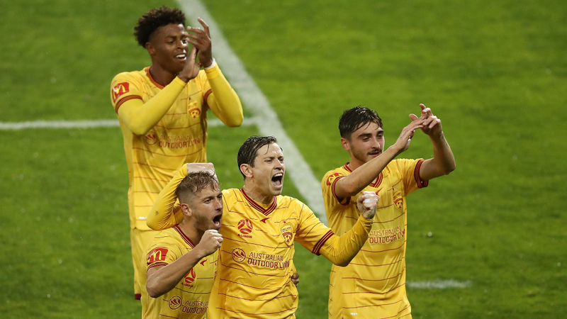 A-League: Wins keep coming as Veart's upwardly mobile Adelaide go third