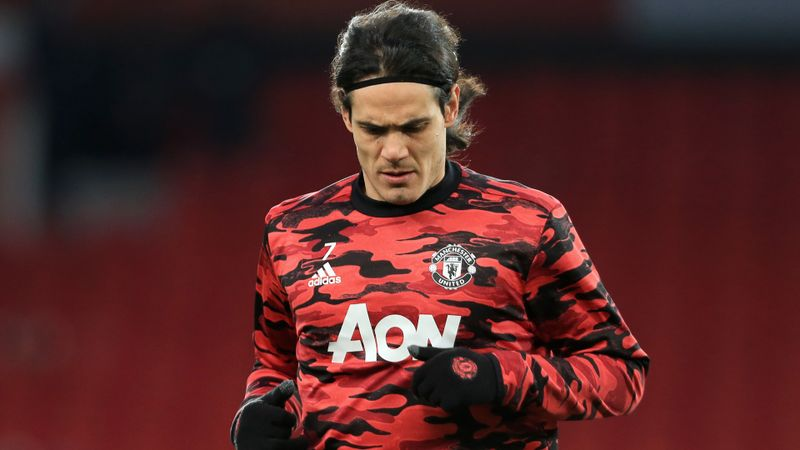 Man Utd in contract talks with Cavani, confirms Solskjaer