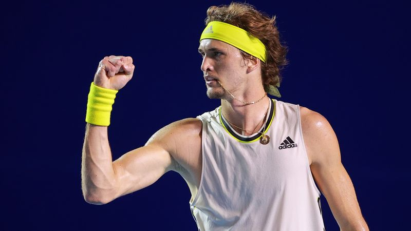 Zverev stops Tsitsipas in Acapulco for 14th ATP title