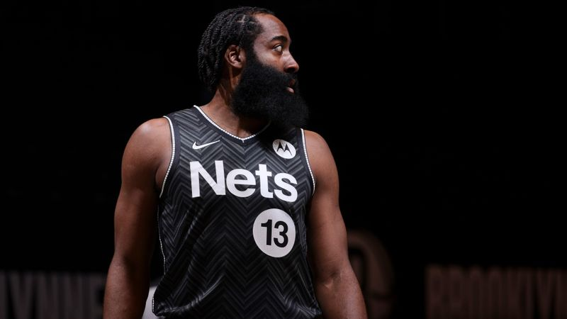 Nets' Harden cleared to face Trail Blazers