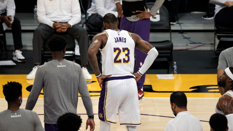 Lakers prioritising offensive work after third straight loss without LeBron, Davis