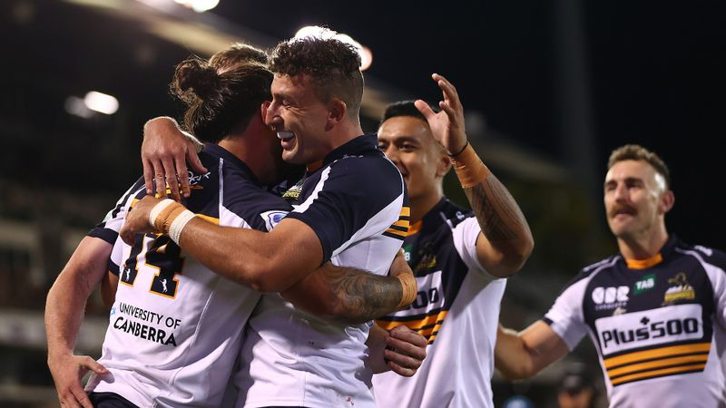 Brumbies 42-14 Western Force: Ikitau and Muirhead score twice as hosts reclaim top spot