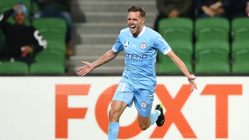 Melbourne City 4-1 Western Sydney Wanderers: Noone stars in A-League rout