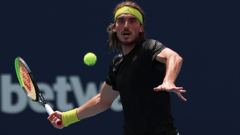 Tsitsipas rolls into third round, red-hot Karatsev roars in Miami