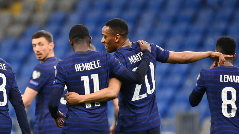 Dembele on the right track – Deschamps