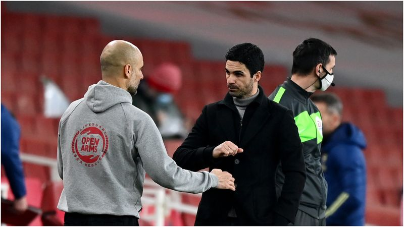 Guardiola's City must win Champions League to be considered Premier League's best ever – Arteta