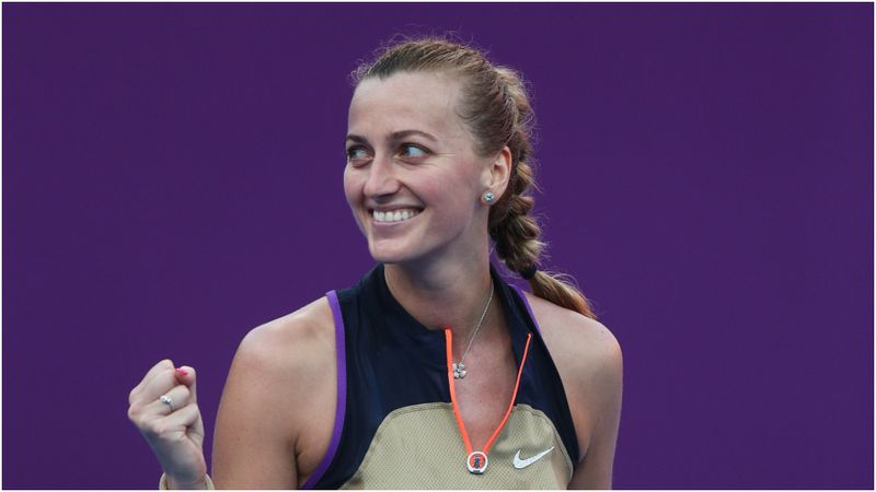 Kvitova reaches another Doha semi-final as Pegula ousts Pliskova