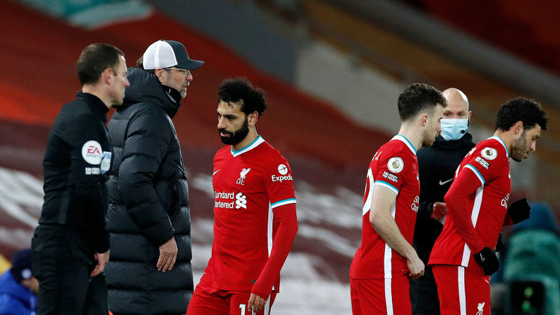 Klopp reveals reason behind Salah substitution after Liverpool's Chelsea defeat
