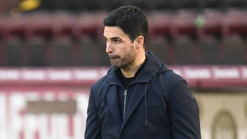 Arteta bemoans penalty call after Arsenal drop points at Burnley