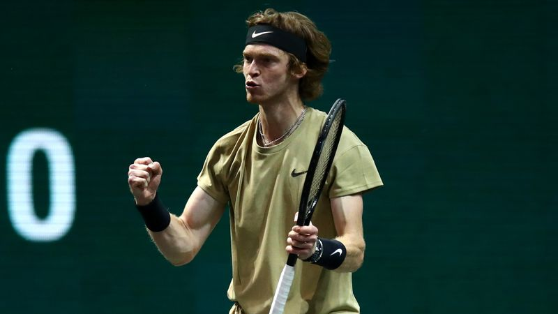 Rublev's 18th straight ATP 500 win tees up tantalising Rotterdam semi-final with Tsitsipas