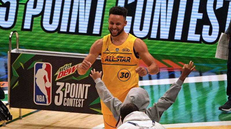 All-Star Game: Vintage Curry puts on show to be crowned Three-Point king