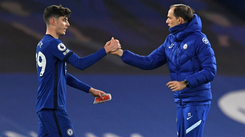 Havertz's 'excellent' display thrills Chelsea boss Tuchel