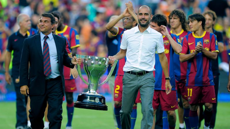 Guardiola believes Laporta will bring feel-good factor back to Barcelona
