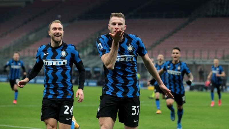 Inter 1-0 Atalanta: Skriniar strikes to lift Serie A leaders clear