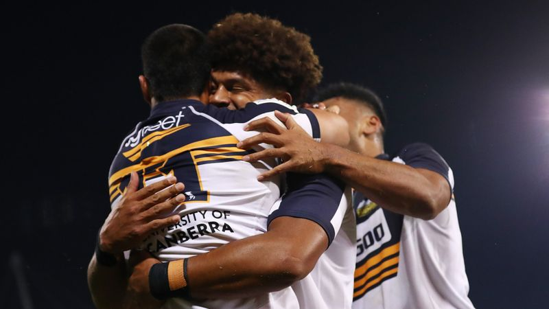Brumbies reach Super Rugby AU final after Pulu sees red
