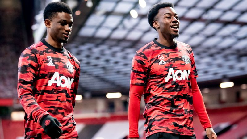 Amad and Elanga get Premier League debuts as Solskjaer shuffles his pack